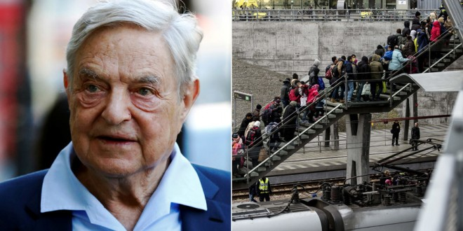 Business magnate George Soros - Luke MacGregor, Johan Nilsson - Reuters